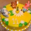 Торт «Винни-Пух с друзьями»