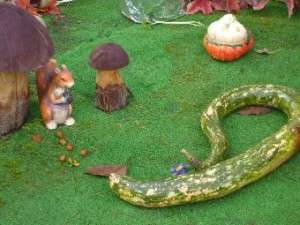 белочка и змея
