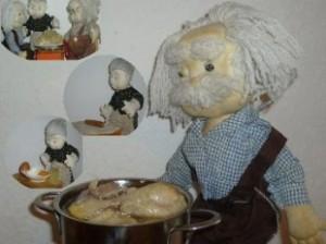 Бешбармак с курицей